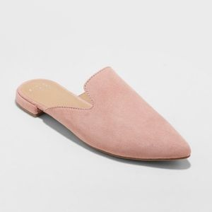 Super cute blush slides- Size 11